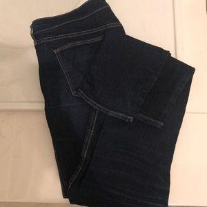 Skinny jeans-dark blue